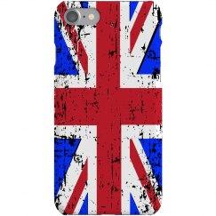 Distressed UK Flag Case