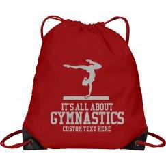 Custom Gymnastics Drawstring