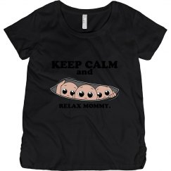 funny maternity top.