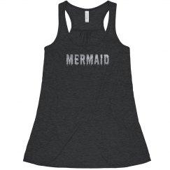 Silver Mermaid Flowy Top