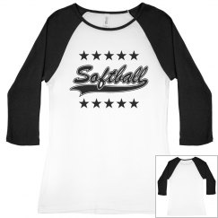 Softball star