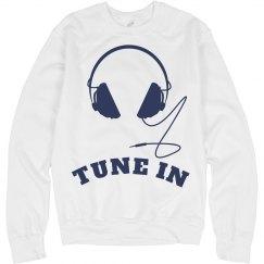 Tune In Sweatshirt