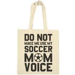 Soccer Mom Bag Warning Voice
