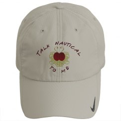 Talk Nautical golf hat