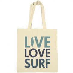 Live Love Surf Tote