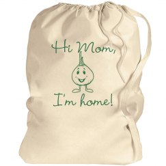Hi Mom Laundry Bag