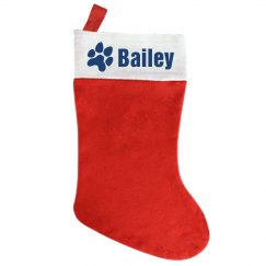 Custom Puppy Stocking
