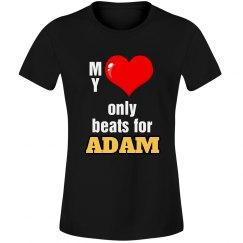 Heart beats for Adam