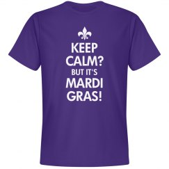Keep Calm Mardi Gras