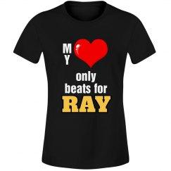 Heart beats for Ray