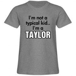I'm a Taylor!
