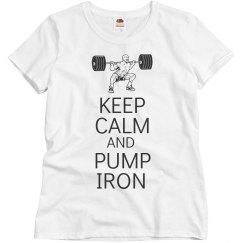 Keep calm pump iron