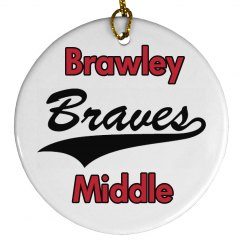 Brawley Braves Ornament