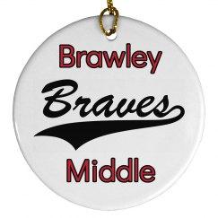Brawley Braves Ornament