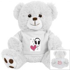 Music Heart Brown Bear
