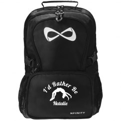 I'd Rather Be Cheering Custom Nfinity Backpack