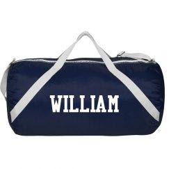 William sports bag