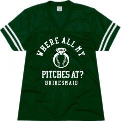 Baseball Bachelorette Jersey