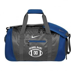 Custom Football Duffel