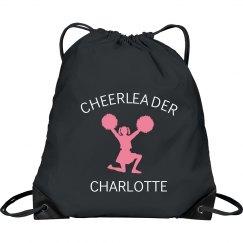 Custom Drawstring cheer bag