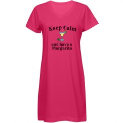 Keep Calm - Margarita hot pink