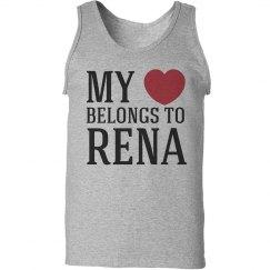 Heart belongs to Rena