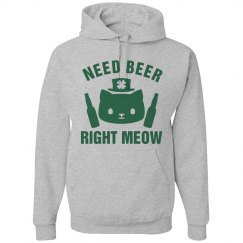 St Patricks Day Cat Puns Hoodies