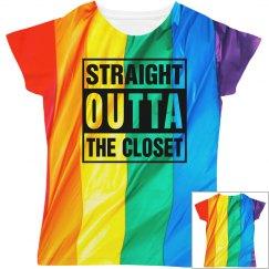Straight Outta My Rainbow Flag