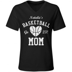 Trendy Basketball Mom Shirts to Customize