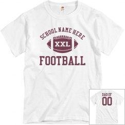 Budget Priced Football Dad Shirt