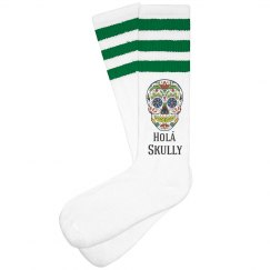 Hola Skully Socks