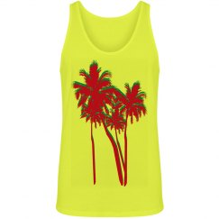 Neon Palm Trees