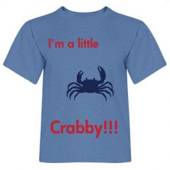 Crabby infant t shirt