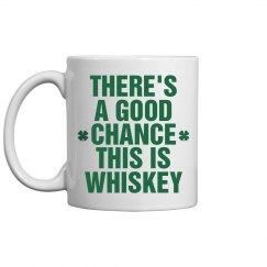 St Patricks Irish Coffee Mug