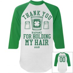 Custom St Patty Drinking Team