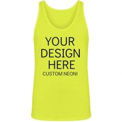 Custom Green Neon Tee