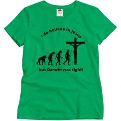 Evolution Jesus