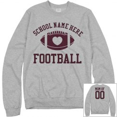 Budget Price Football Mom Sweats