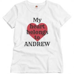 Heart belongs to andrew