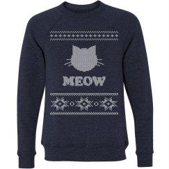 Ugly Christmas meow