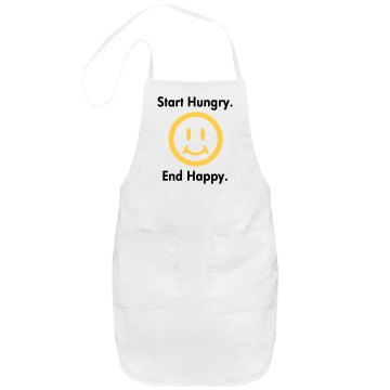 End Happy Apron