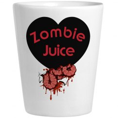 Zombie Halloween Zombie Juice Shot Glass