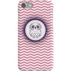 Purple Owl iPhone 5 Case