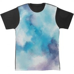Grungey Watercolor All Over Print