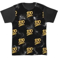 Keep It 100 Emoji All Over Print