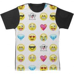 Emoji Pop Culture All Over Print