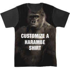 Custom Harambe All Over Print Shirt