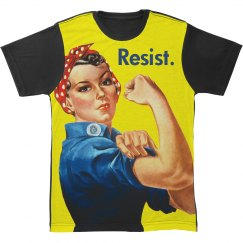 Resist For Women's Rights Rosie