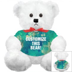 Custom All Over Print Bear
