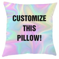 Hologram All Over Print Pillow